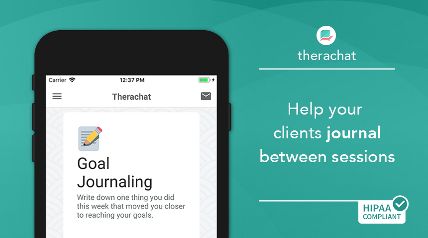 Therachat journaling