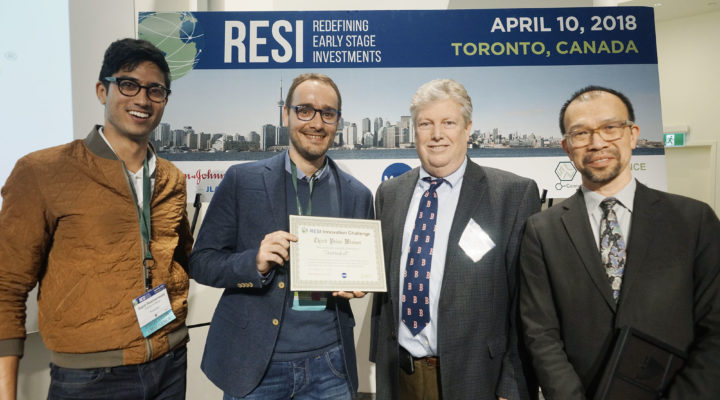 We won at the RESI Innovation Challenge in Toronto!