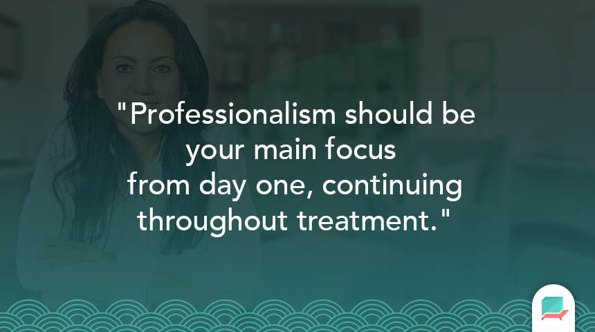 Professionalism in therapy_setting boundaries_quote