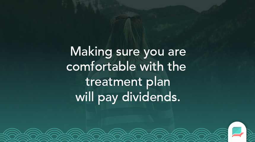 Treatment plan quote