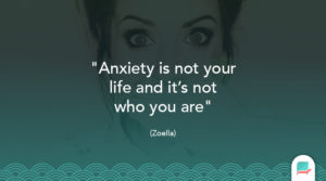Zoella anxiety quote