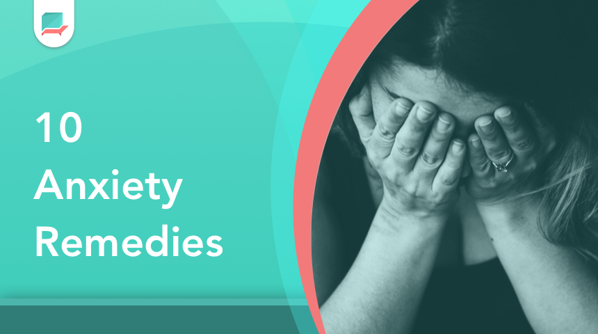 Anxiety remedies - banner