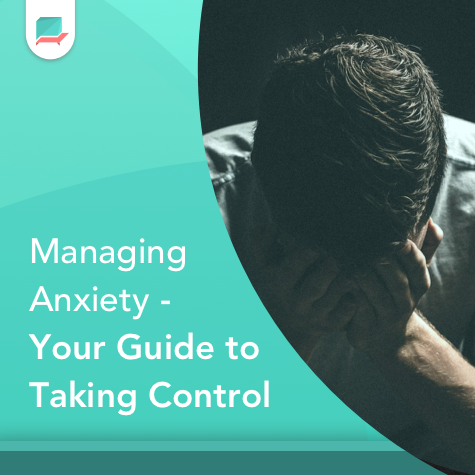 Managing Anxiety Banner Square Therachat Blog