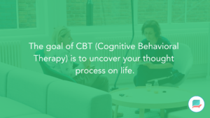 What is CBT - as a type of Talk Therapy