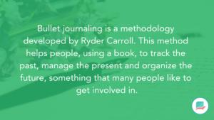 Bullet Journal - Rise of Journaling